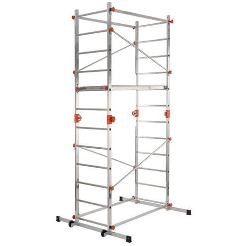 Trabattello/scala In Alluminio