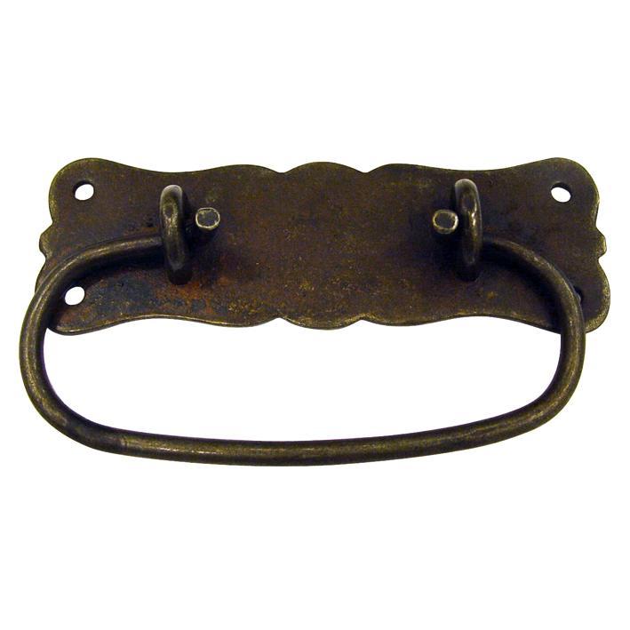 Maniglietta per mobili in ferro vecchio 06015 112 mm