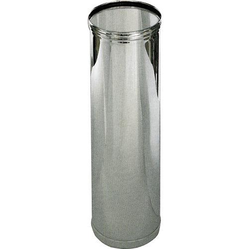 Tubo X Stufa Pellet Acciaio Inox 304 Ø12x50cm