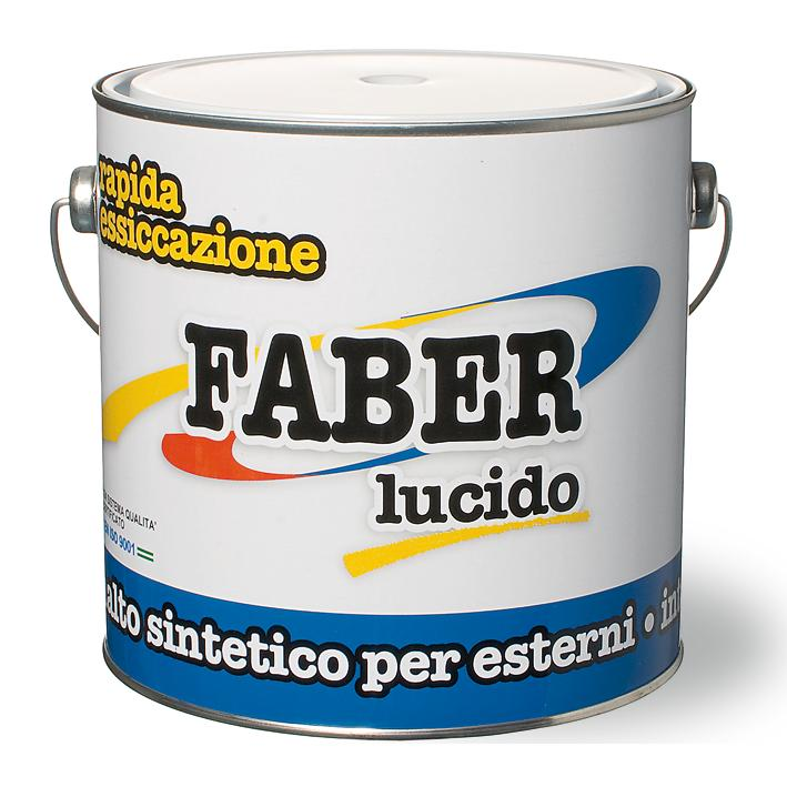 Smalto Faber 0,750 Bianco Ral 9010 V