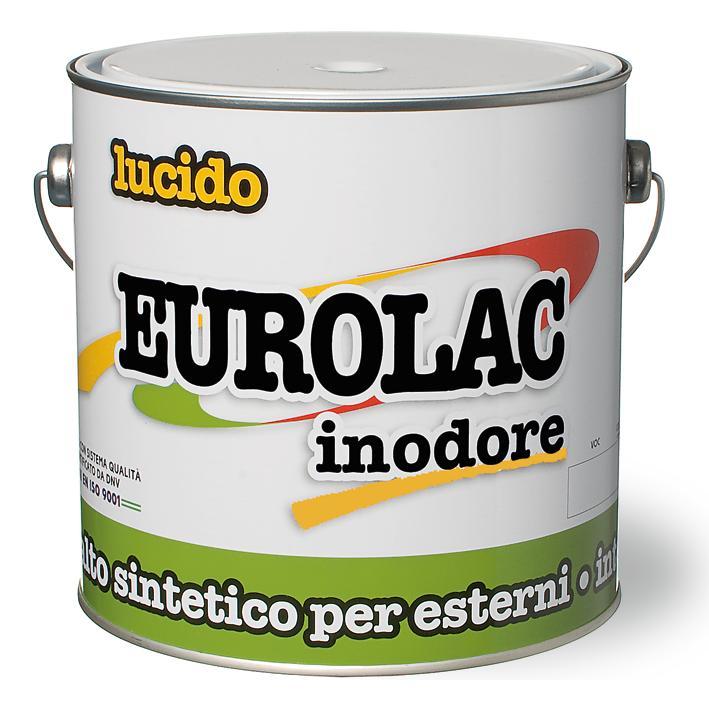 Smalto Eurolac Inodore 0,750 Bianco         V