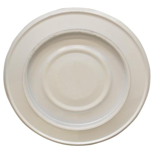 Rosone C/coperchio X Tubo Stufa cm.8 Bianco