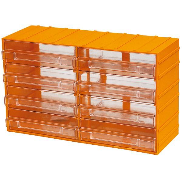 Cassettiera Plastica Maurer  8 Posti misura 382x148x230h mm.