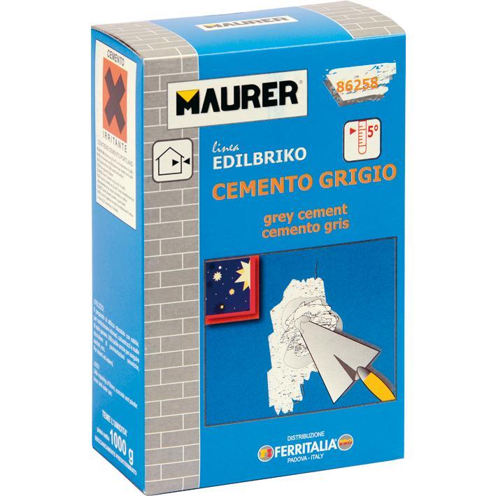 Cemento Grigio Maurer Kg.1 PZ.12