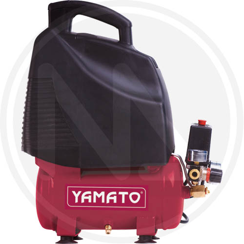 Compressore Yamato Coassiale Lt.6 Hp.1,5 Oil less