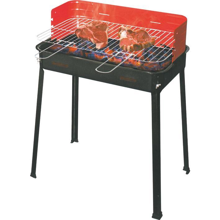 Barbecue Legna Rettang. Flavia Art.503-a Cm.35x60xh80