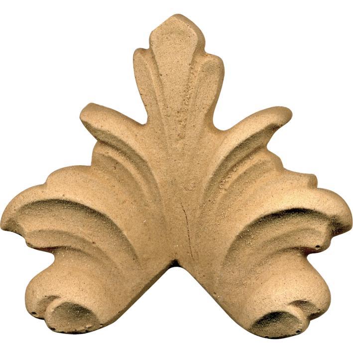 Fregio Pasta Di Legno Grezzo Art.03.4514 misura 75x70h mm.