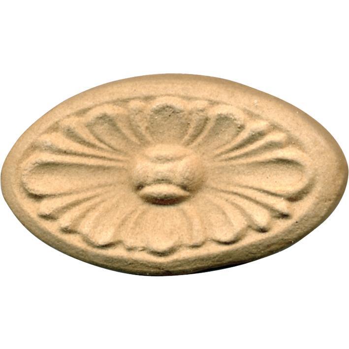 Fregio Pasta Di Legno Grezzo Art.03.4519 misura 73x43h mm.