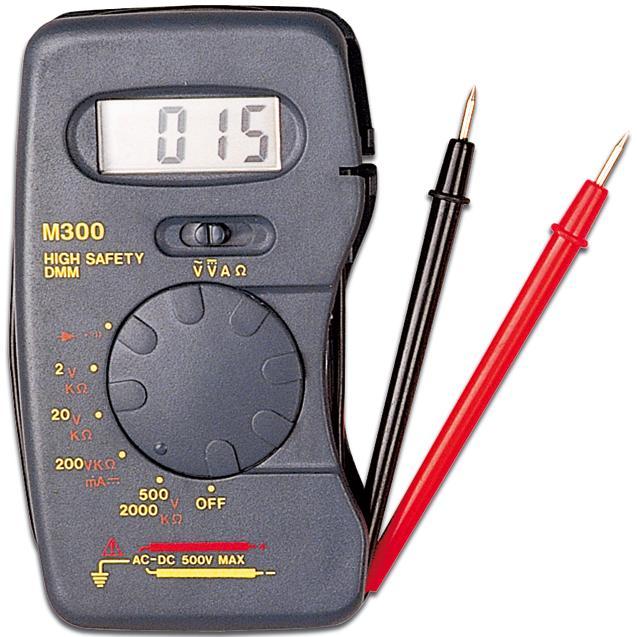 Multitester Digitale Pocket