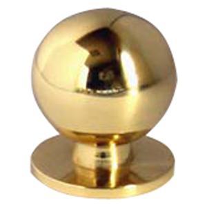 POMOLO per mobili in OTTONE lucido BO201 misura 20/25/30 mm.