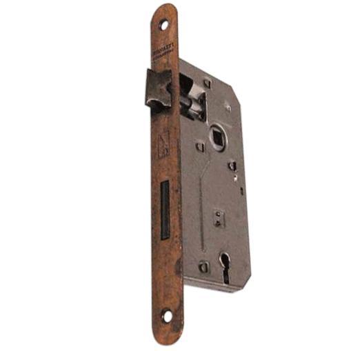 SERRATURA da infilare bordo tondo bronzato patent