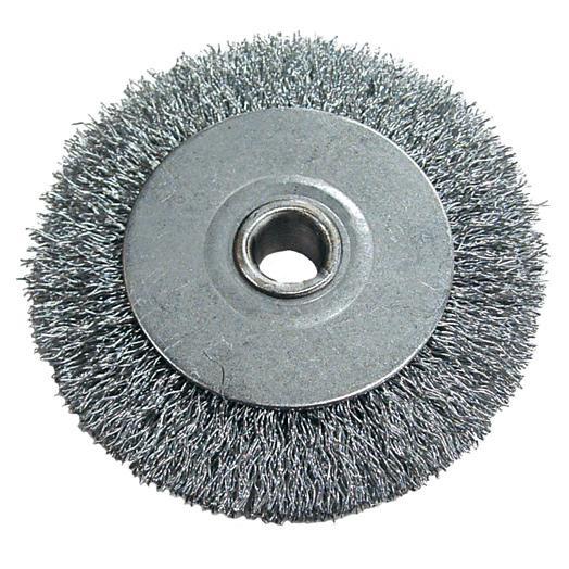 SPAZZOLA PER DUPLICATRICE in acciaio Ø 80 mm. silca